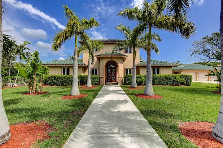 Luxurious Family House - Lake Worth - Vila