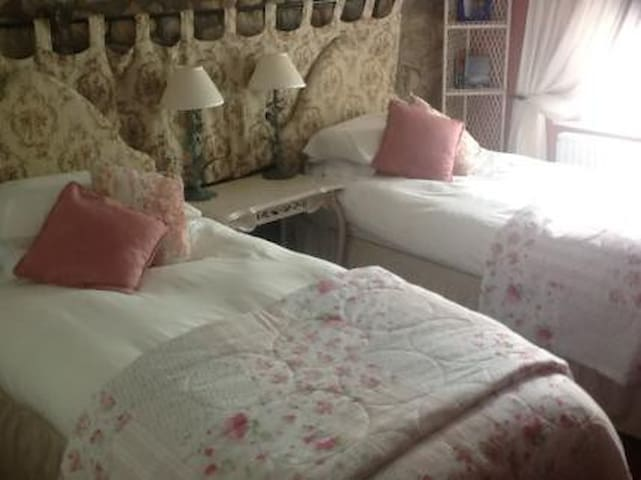 Lovely twin en-suite bedroom - Brougham - Bed & Breakfast