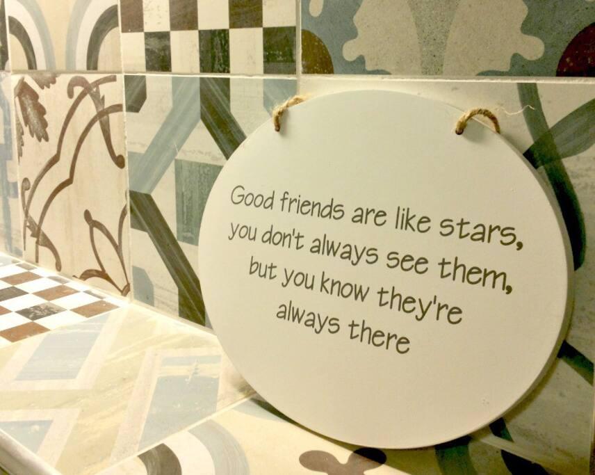 Il motto della casa