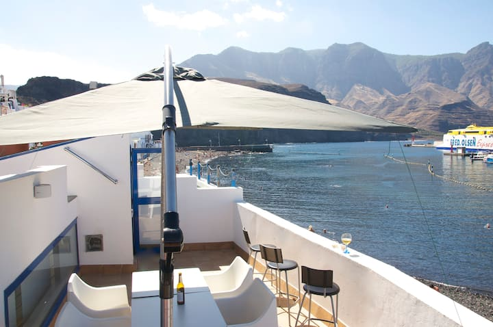 Seafront beach house in Agaete - Gran Canaria