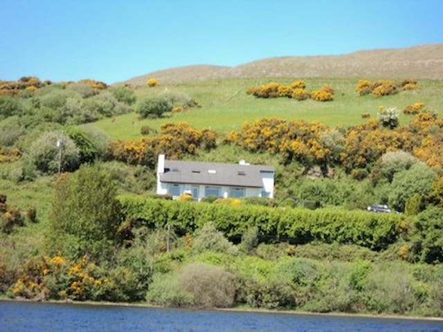 Panoramic lake view Cottage - Clonbur - Casa