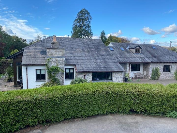 Large Private Riverside Home Kendal Lake District