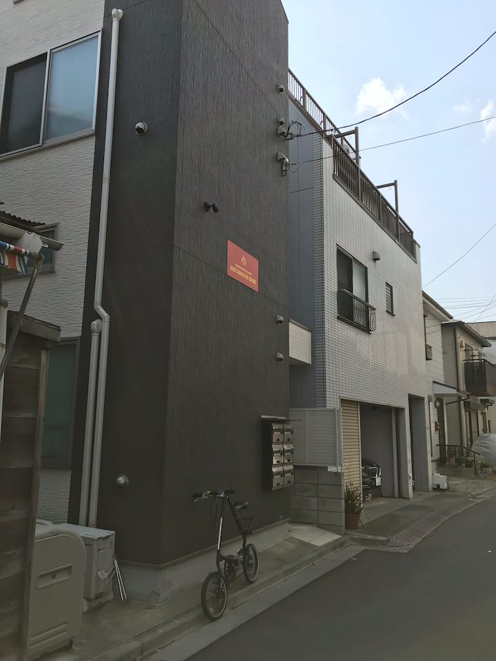 All your private/Cozy aparte 201/Asakusa,Skytree