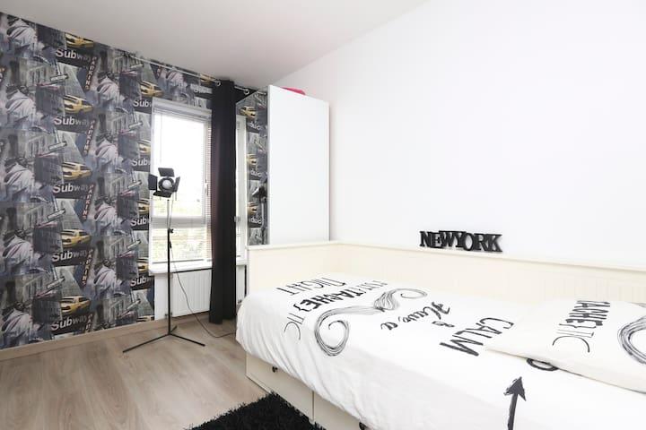Chambre entre Paris et disneyl@nd - Champs-sur-Marne - Apartment