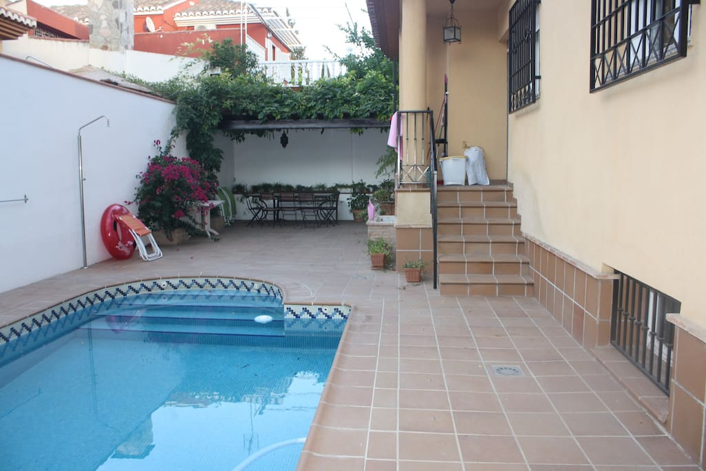 Uso gratuito de la piscina de 15 de junio a 30 de septiembre