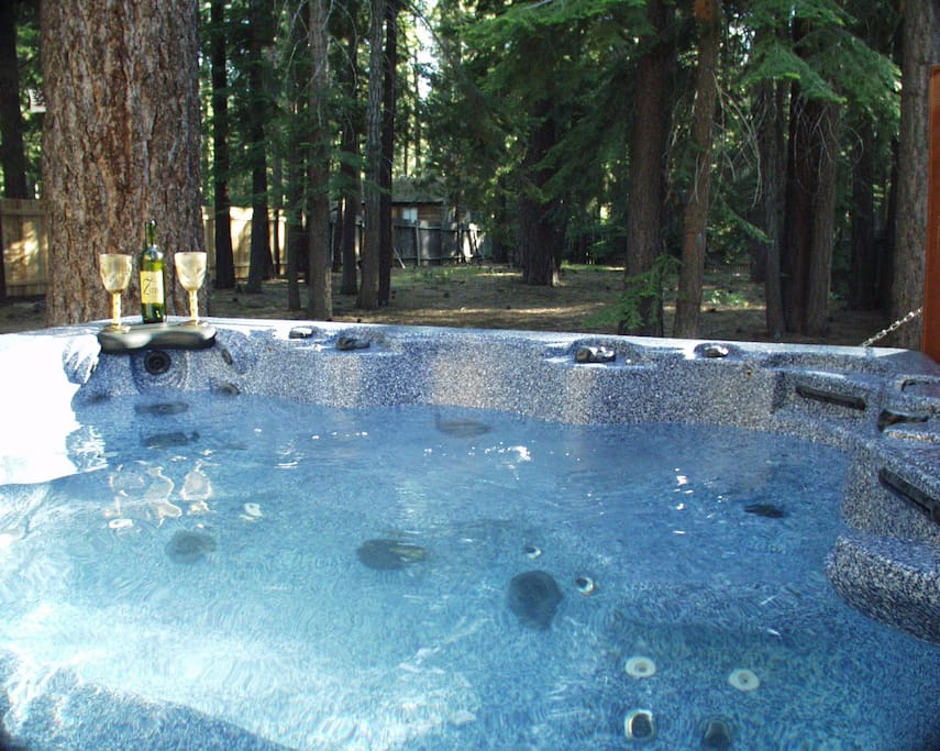 Enjoy the hot tub after a day of skiing or just for relaxation