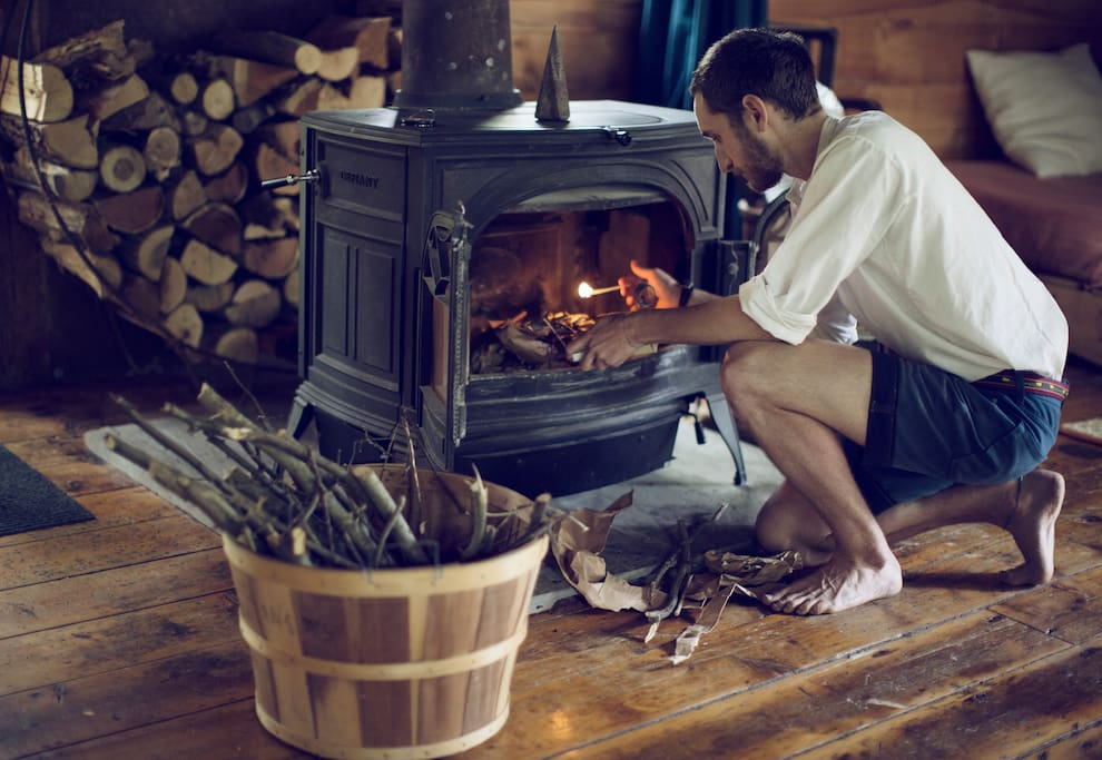 The wood burning stove is the Barn's heart in the cold months. We provide all the wood you will need plus detailed instructions on how to use it. The Barn will be fully heated once you arrive.