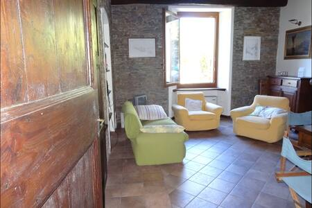 Rural house for rent with garden CH - Bassano