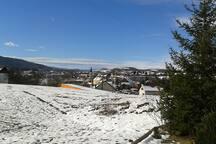 Nice, sunny winter day in Slunj..