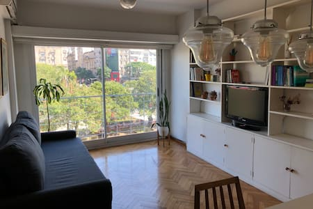 Spacious and Warm Apartment Downtown Buenos Aires