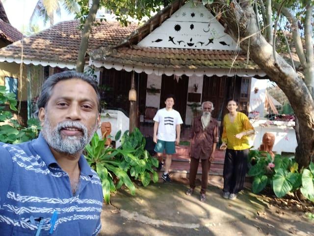 adams ayurveda yoga retreat in fort kochi