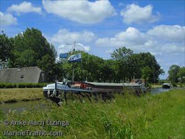 Sleeping on a barge - Gorinchem - Tekne