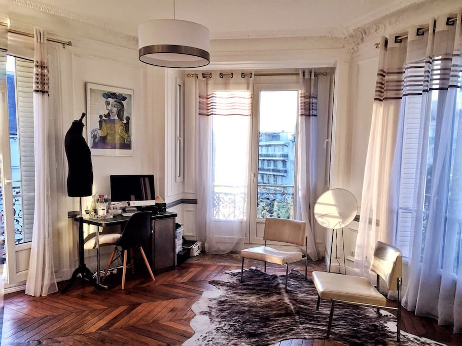 midnight a paris wohnungen zur miete in paris le de. Black Bedroom Furniture Sets. Home Design Ideas