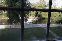 Beautiful view out the window of Aquia Creek