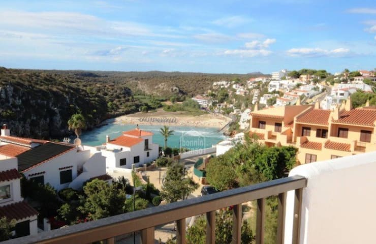 INCREÍBLES vistas/AMAZING views - Cala en Porter - Apartmen