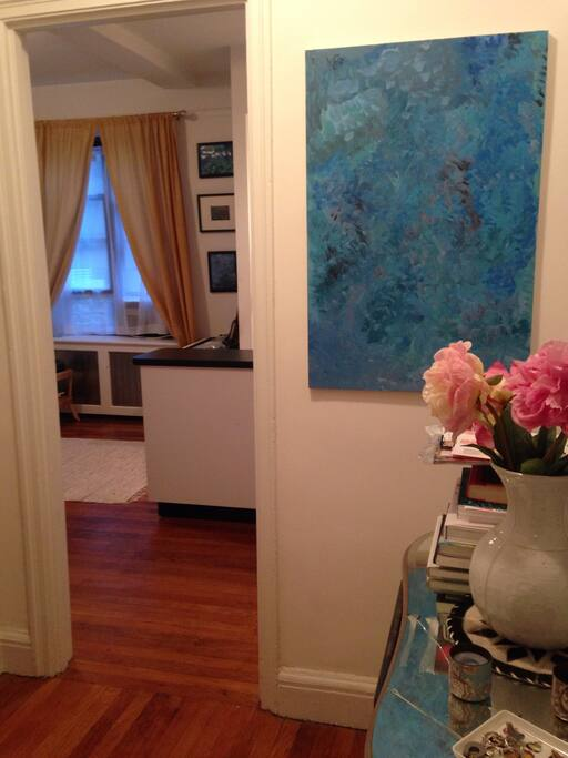 Entryway to the Studio