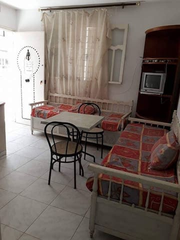Apartment in front of the beach in Monastir