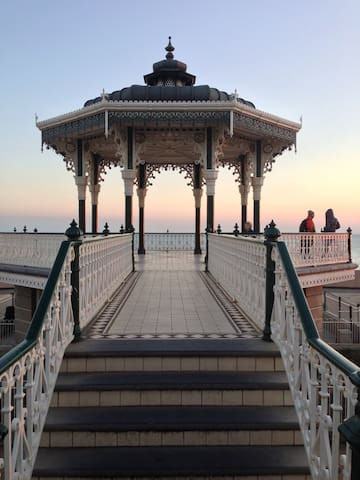 Romantic bandstand