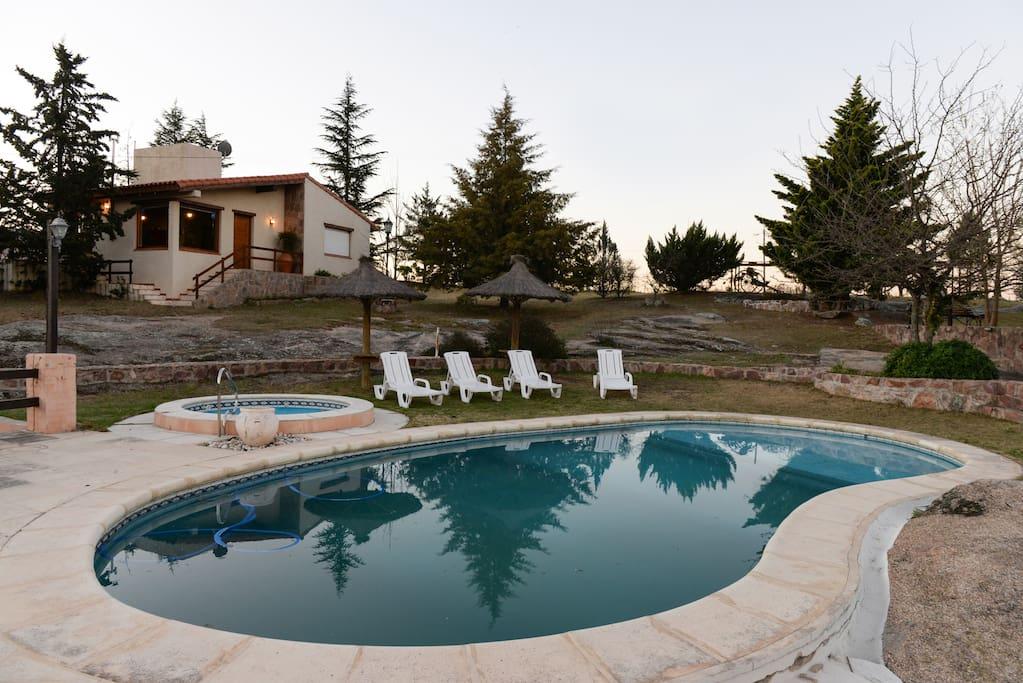 Casa de vacaciones muy confortable en Tanti, Cordoba, Argentina