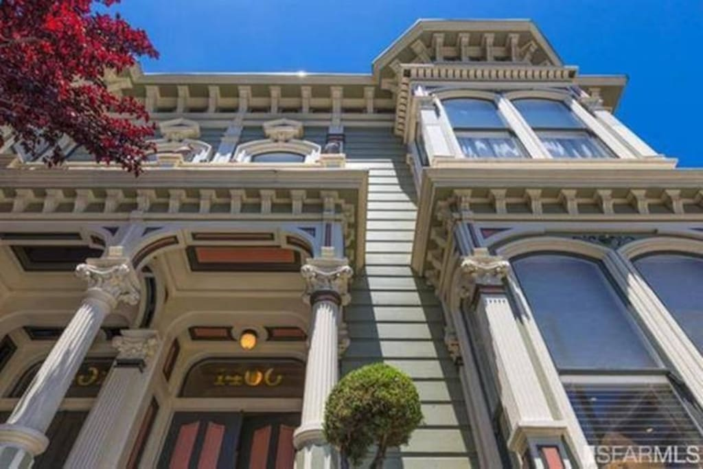 Home Sweet Home - our 1885 quintessential San Francisco Victorian