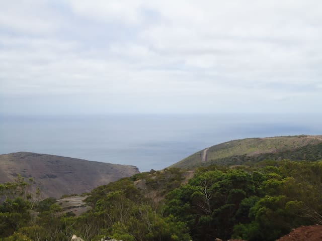 Sea View over ruperts valley