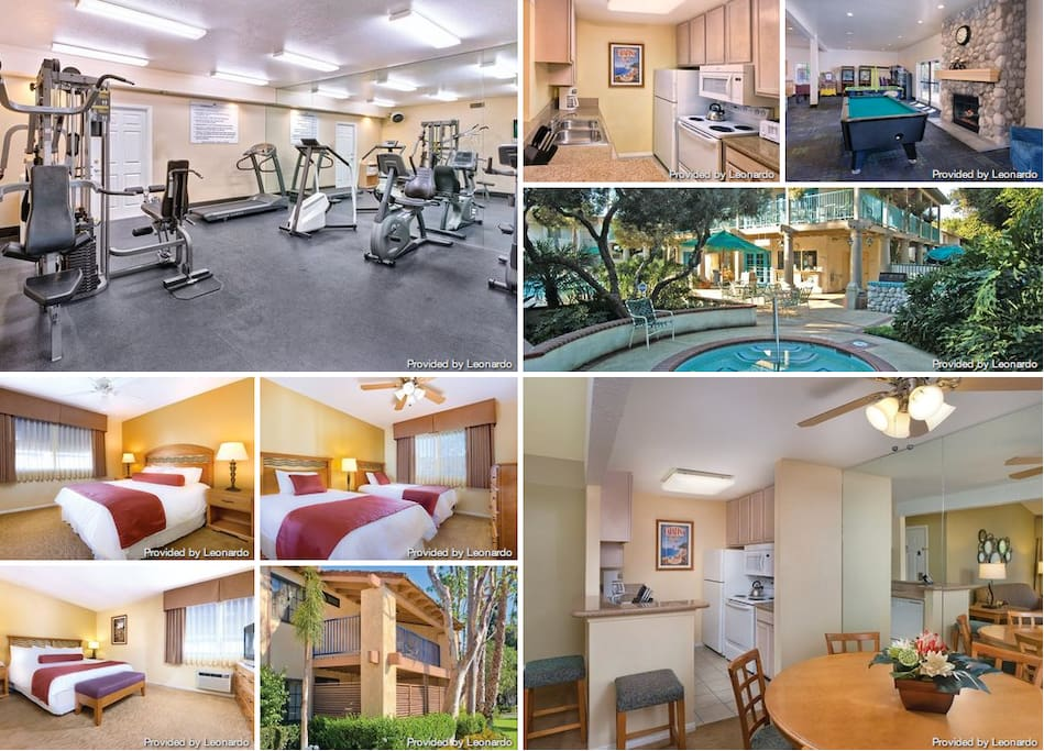 Nice display of photos I found taken by Leonardo.  Some are of the 3 bedroom (not my 2 bdrm unit) but same type decor and furniture