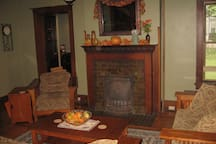 View of the living room.