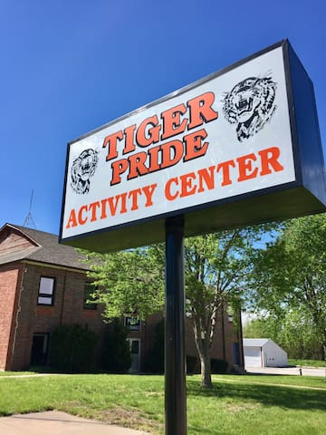 Tiger Pride Activity Center -ECLIPSE lodging