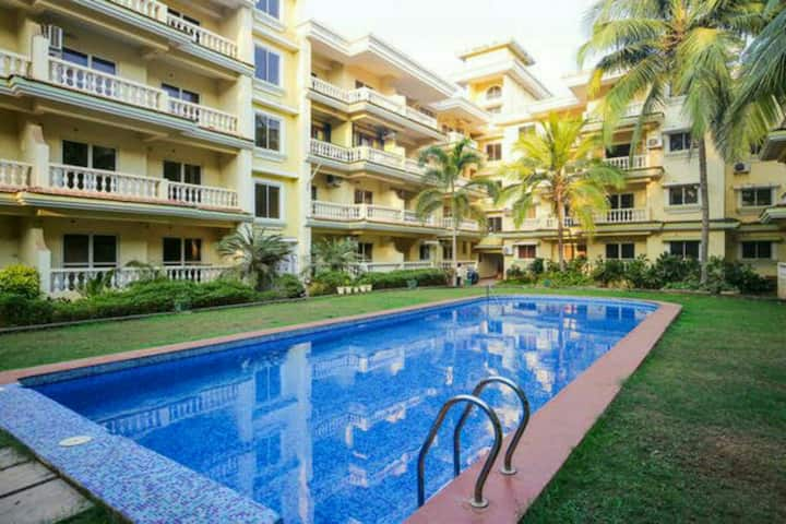 Asianholidayhomes AT seacoast retreat 1BHK