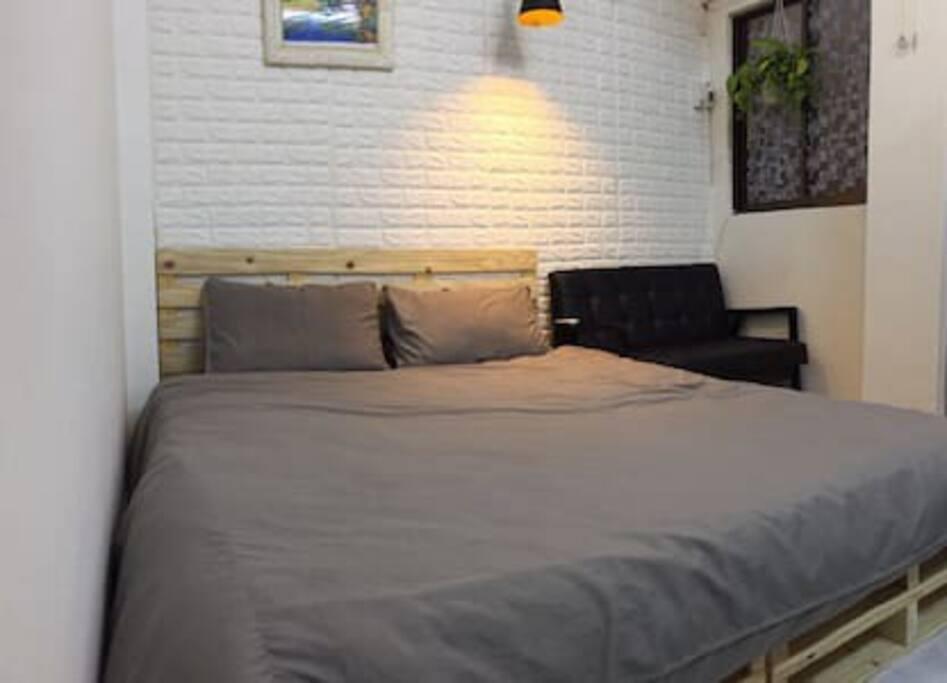 A cozy private room