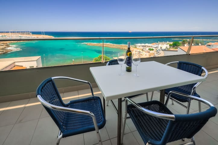 loft with great view on the sea - Porto Torres - Byt