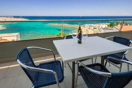 loft with great view on the sea - Porto Torres - 公寓