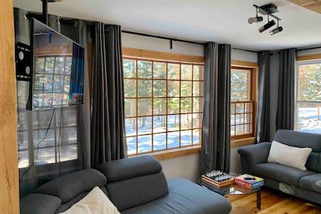 Chalet en forêt avec 2 chambres