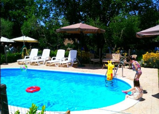 Chalet - 35 km from the beach - Canale Monterano - Chalet