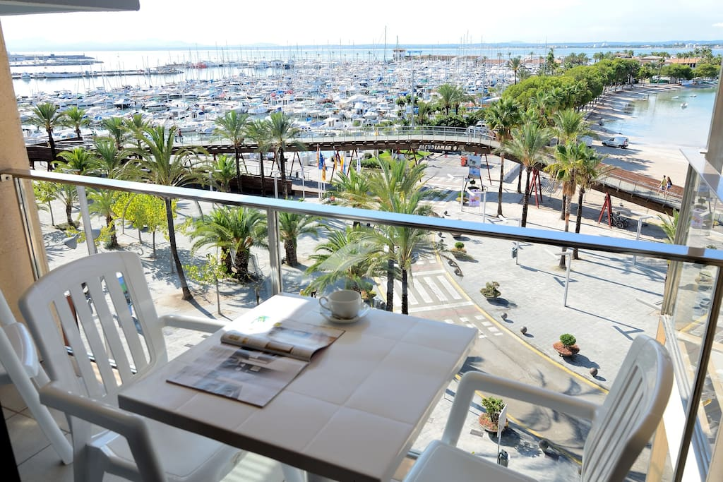 You will see all Alcudia Bay from its Terraces