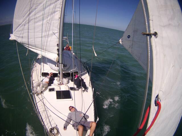 Cabine double de voilier 13 mètres - La Rochelle - Barco
