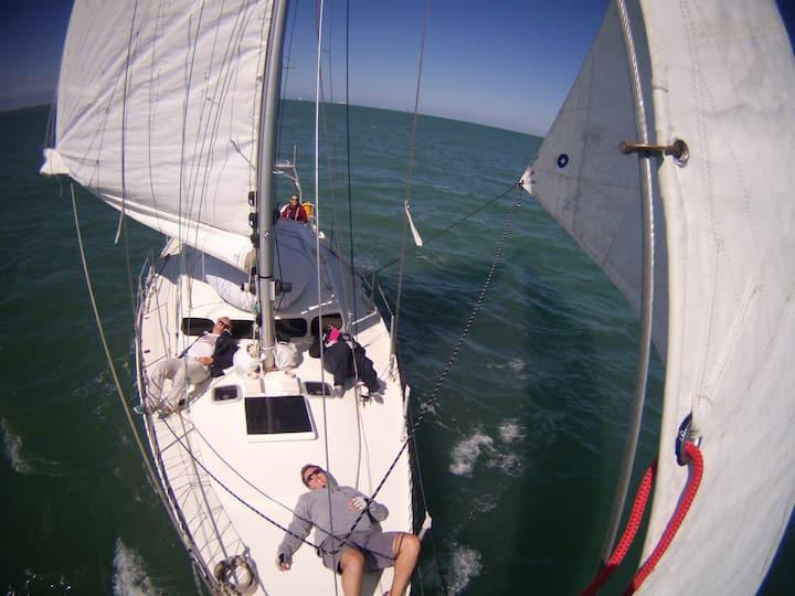 Cabine double de voilier 13 mètres