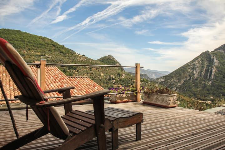 Eco chalet Spa et terrasse panoramique
