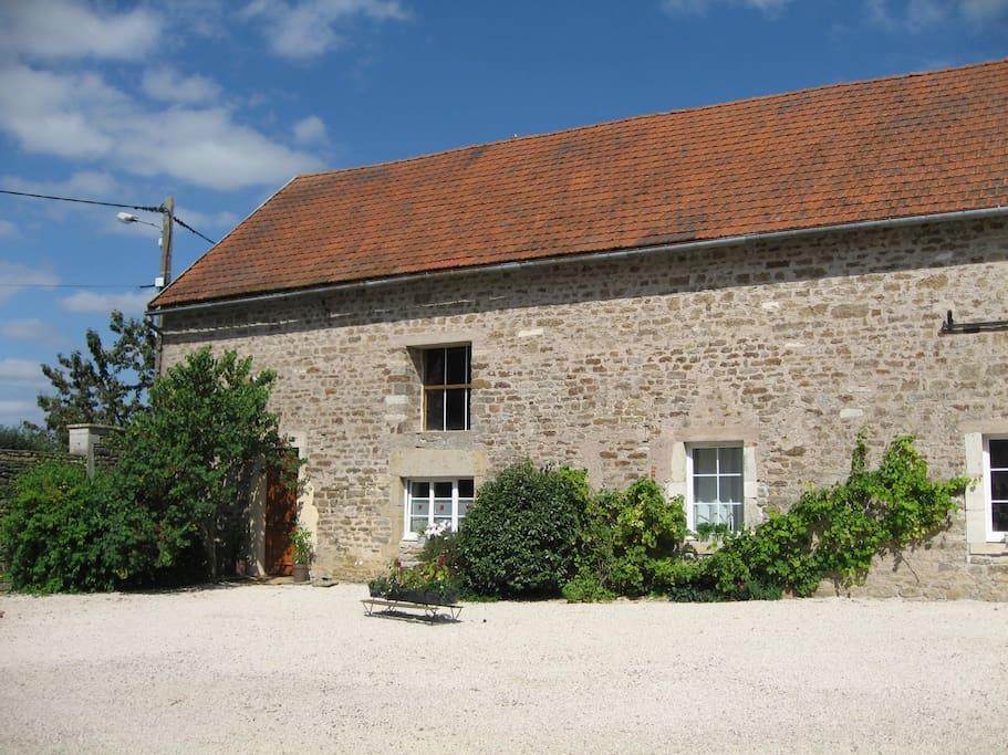 Gite le village avec piscine maisons louer normier for Gite de france bourgogne avec piscine