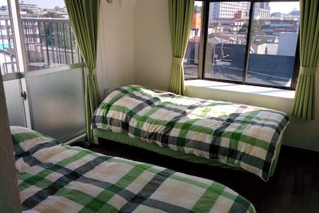 Great View Sunny 1LDK/46m2/WiFi/7min to Mita line - Itabashi - Appartamento