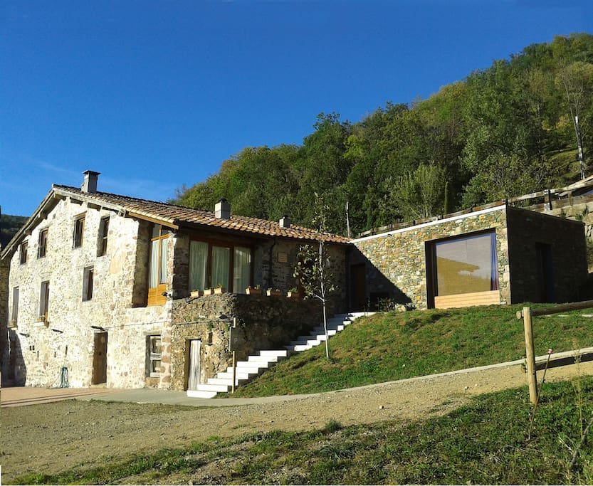 Casa rural cal masover houses for rent in camprodon - Casa rural pirineo catalan ...