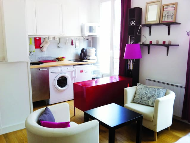 Charming Studio Batignolles - Paříž - Byt