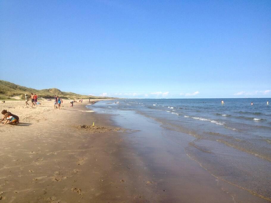 Near by beach.