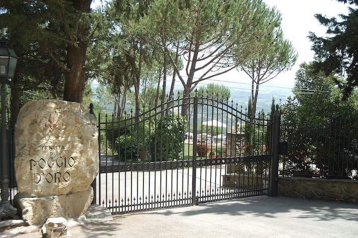 Apartment with splendid views - Tavarnelle Val di Pesa - Apartment