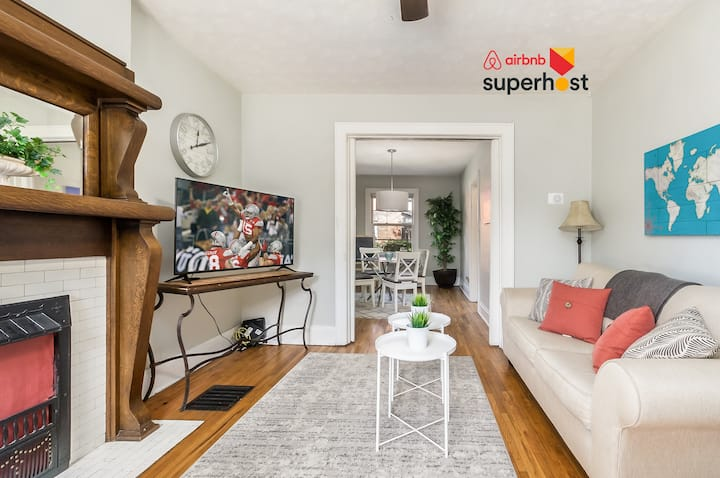 2BR German Village Brick Condo Steps from Downtown