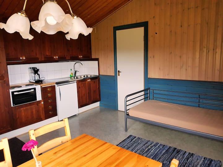 Cosy cabin in rural surroundings