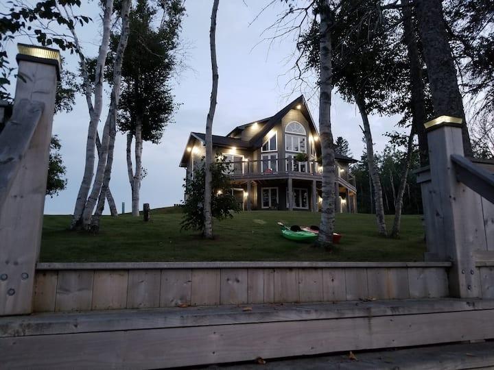 Waterfront property on Pokemouche River, NB
