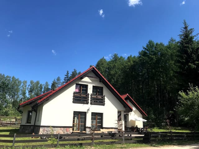 Dom Wakacyjny Leśne Skrzydła dla 16 osób
