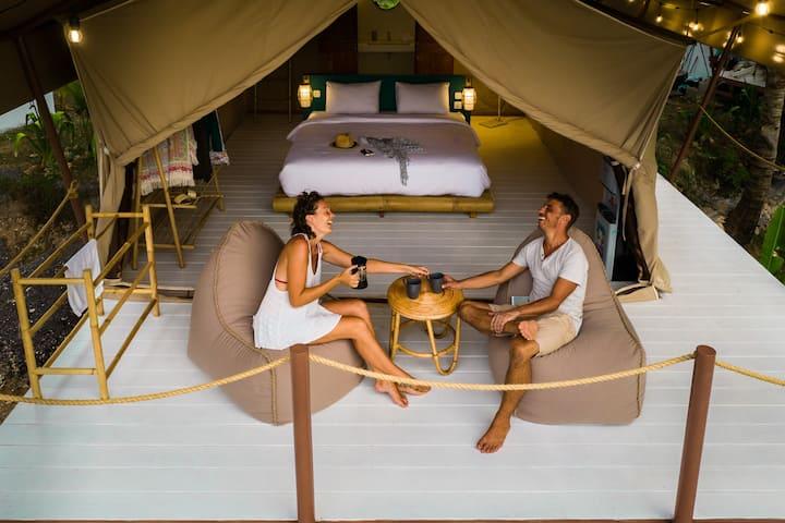 Safari Tent Experience4 @ Autentik Nusa Penida