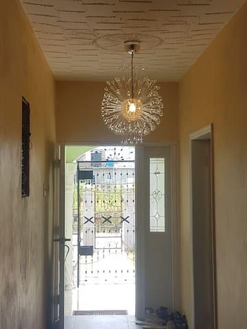 Hallway in the living room